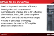 A Study and Comparison of Efficiency Enhancement Techniques for RF Power Amplifiers