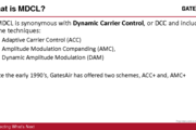"""Application of Modulation Dependent Carrier Level (""""MDCL"""") Control Technologies to AM Tx Systems"""