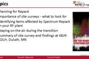 TV – Repack Implementation Planning