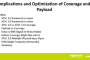 Implications and Optimization of Coverage and Payload for ATSC 3.0