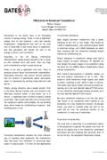 Efficiencies in Broadcast Transmitters