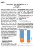 Transmission Site Planning for ATSC 3.0